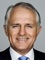 Official portrait of Malcolm Turnbull